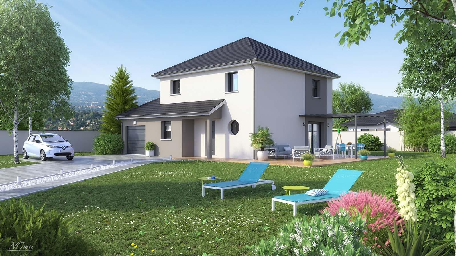 Maisons optimal constructeur de maisons individuelles for Constructeur de maison 81